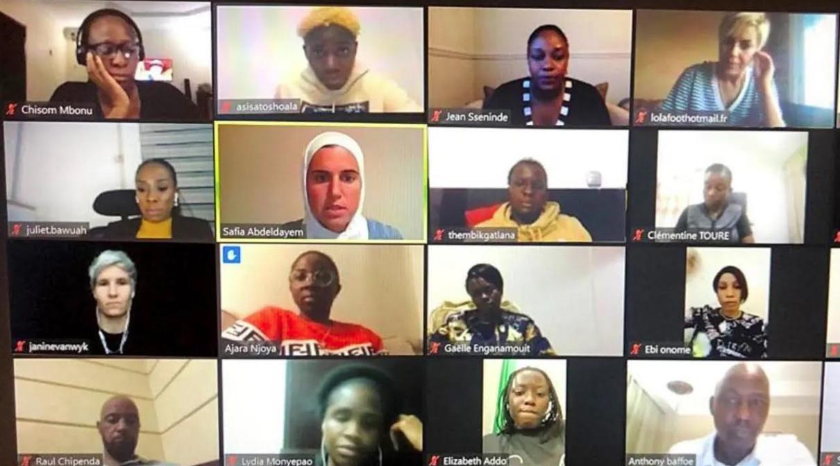 La CAF dévoile sa stratégie aux actrices du football féminin