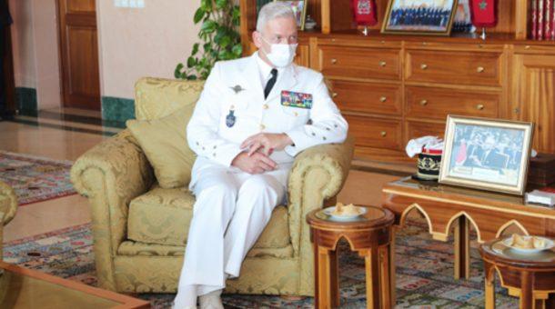 Abdellatif Loudyi reçoit le chef d'état-major des armées françaises
