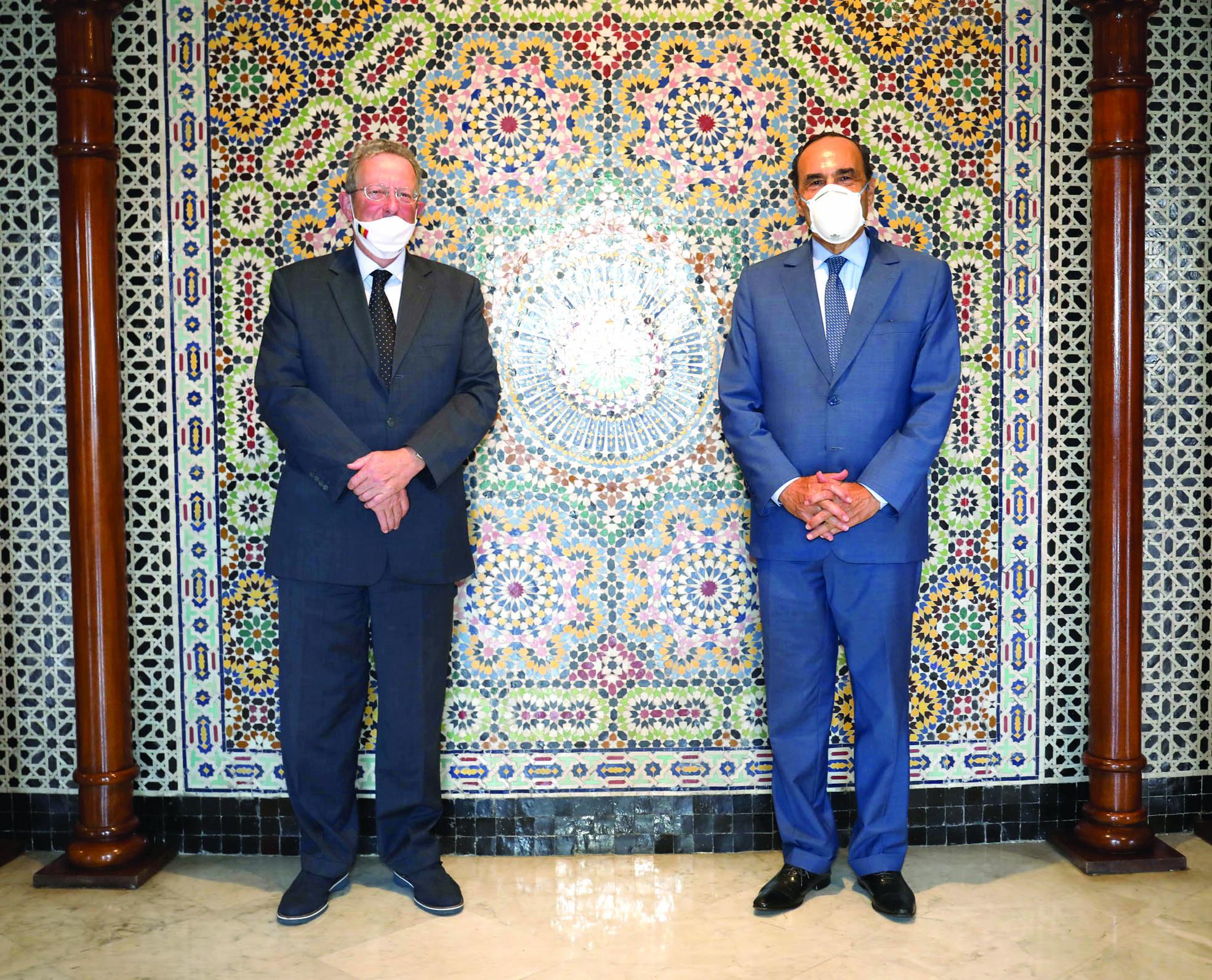 L'ambassadeur de Belgique salue les mesures proactives prises par le Maroc pour endiguer le coronavirus