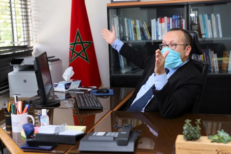 Abdelmounim Belalia, expert auprès de l'IMIS