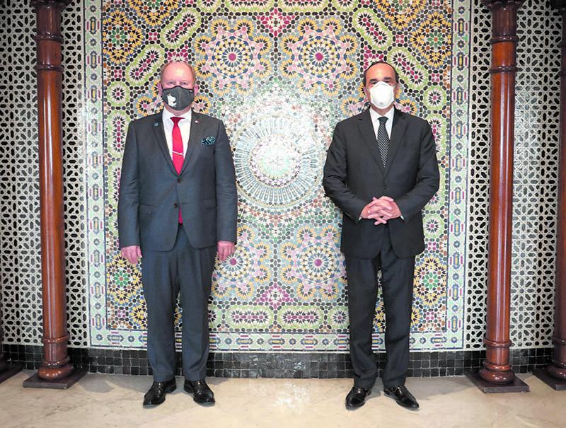 L'ambassadeur de Finlande loue la stabilité et le développement du Maroc