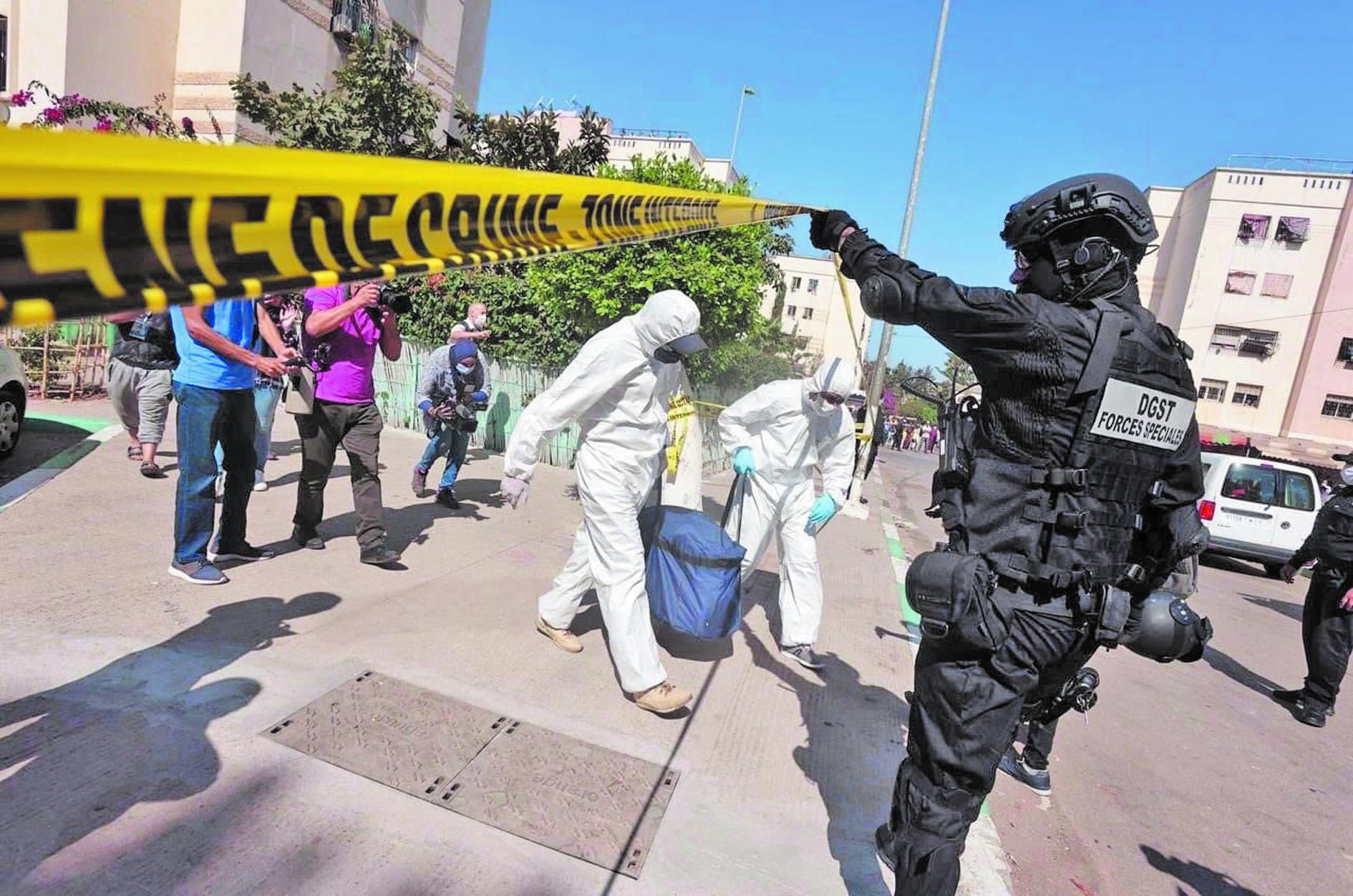 Les poudres et liquides saisis lors de l'opération antiterroriste du 10 septembre servent à la fabrication des explosifs