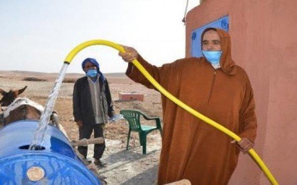 Contribution de l'OCP à l' approvisionnement de Rehamna et Youssoufia en eau potable
