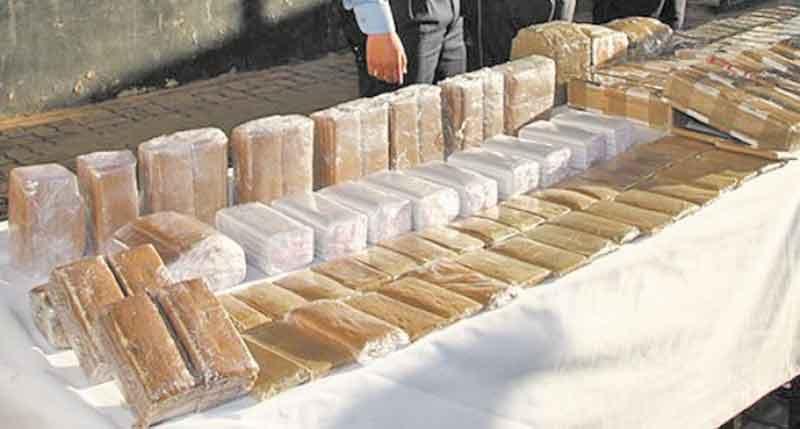 Une tentative de trafic de 513 kilogrammes de chira mise en échec à El Guergarat