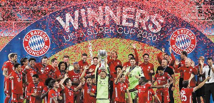 Supercoupe d'Europe : Le Bayern reste insubmersible pour le retour du public