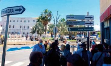 Des Marocains rapatriés du préside occupé de Mellilia