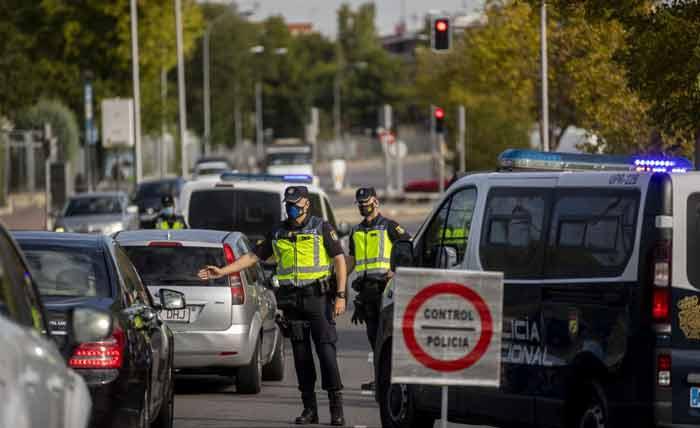 Annonce du bouclage de Madrid malgré l'opposition des autorités locales