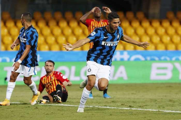 Calcio : L'Inter et l'Atalanta carburent d' entrée