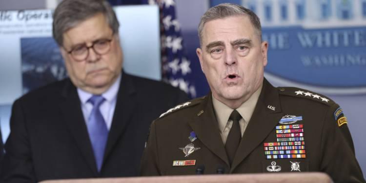 Après la Maison Blanche, l'armée américaine affectée par le Covid