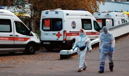 244 morts en 24 heures en Russie, un record