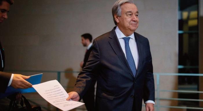 Antonio Guterres fustige l' usurpation de statut par le Polisario devant le Conseil de sécurité