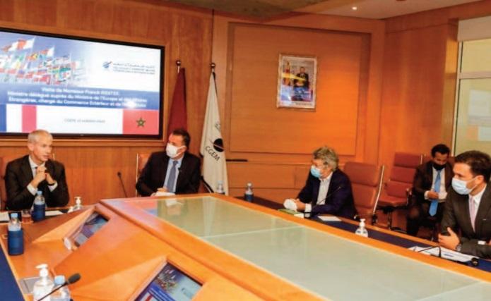 Franck Riester: Le Maroc, pivot de la relation entre l'UE et l'Afrique