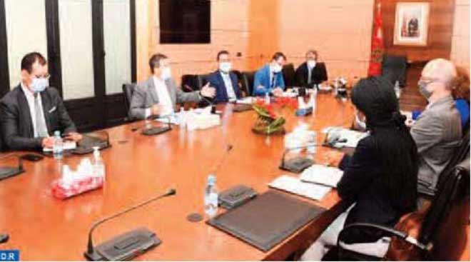 La BM exprime sa disposition à contribuer à la mise en œuvre des dispositions de la loi-cadre relative au système d'éducation
