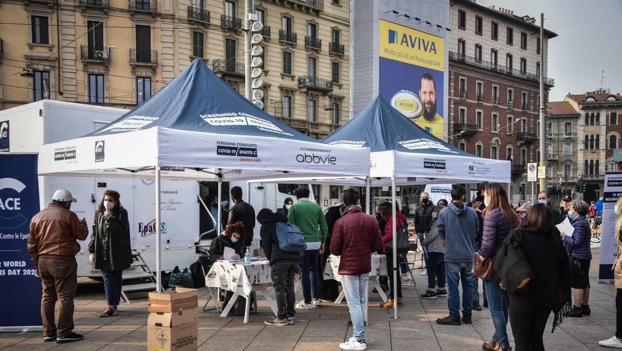 En Italie, la Lombardie et la Campanie se préparent à un couvre-feu