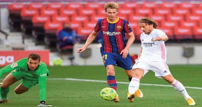 Le Real s'offre le Barça au Camp Nou