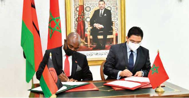 Signature à Rabat de quatre accords de coopération entre le Maroc et le Malawi