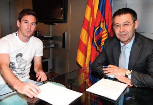 Bartomeu: Messi est la clé du nouveau projet du FC Barcelone