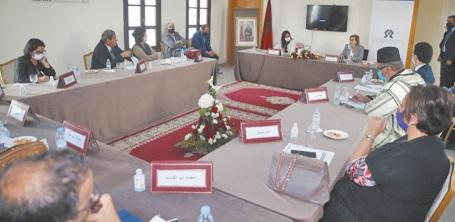 Installation des membres de la commission régionale des droits de l'Homme de Casablanca-Settat
