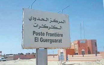 La France appelle à ne pas entraver le trafic commercial et civil à El Guerguerat