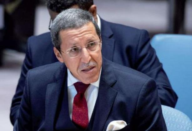 Omar Hilale, ambassadeur représentant permanent du Maroc auprès de l'ONU