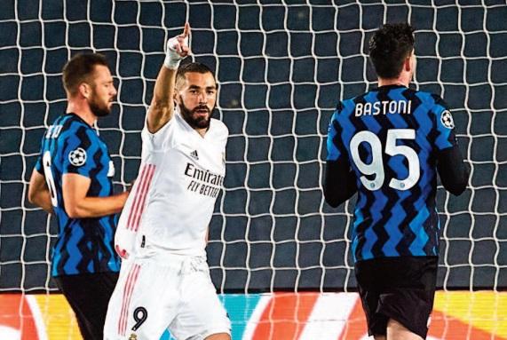 Le Real se rassure en s ' offrant l'Inter