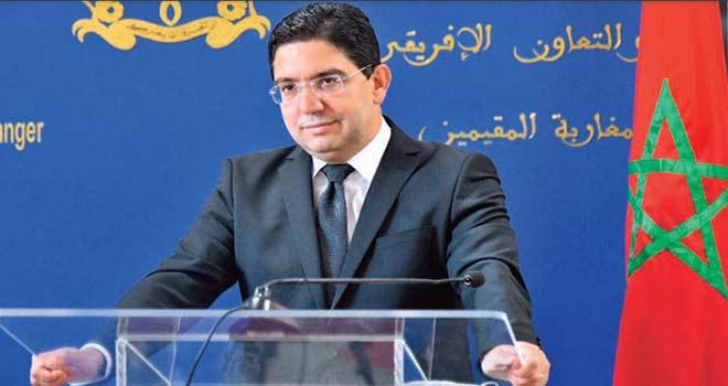 Nasser Bourita : La question du Sahara marocain est en tête des priorités de la diplomatie nationale