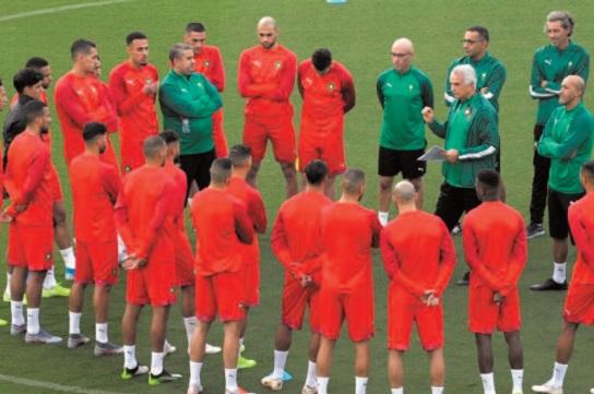 Début du stage de préparation du Onze national au Centre de football Mohammed VI