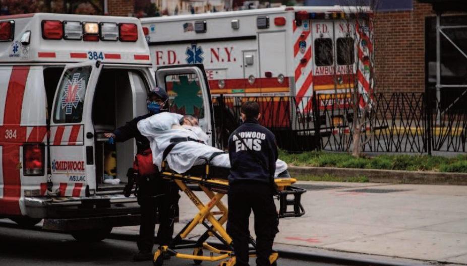 Plus de 200.000 cas de Covid-19 aux Etats-Unis en 24h, un record absolu
