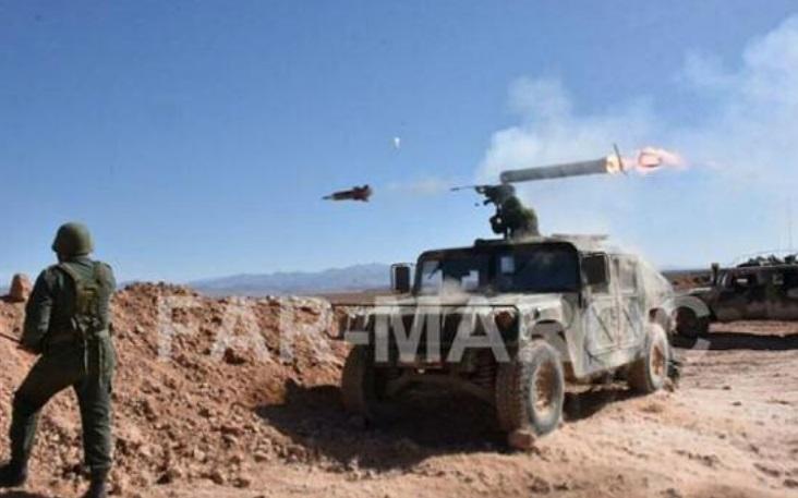 Les FAR détruisent un véhicule du Polisario transportant des armes