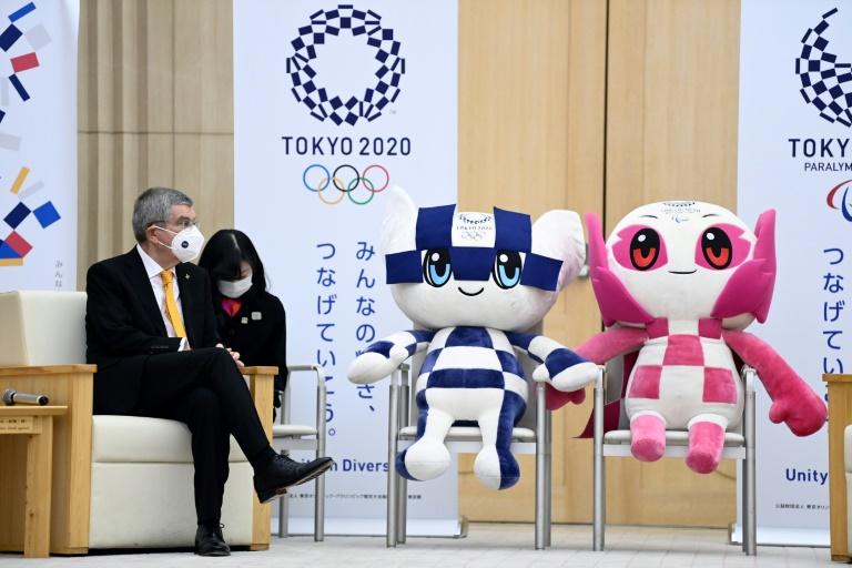 Le président du CIO optimiste sur la présence de spectateurs aux JO de Tokyo