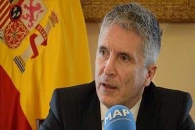 Fernando Grande-Marlaska : L'Espagne partage une forte pression migratoire avec le Royaume