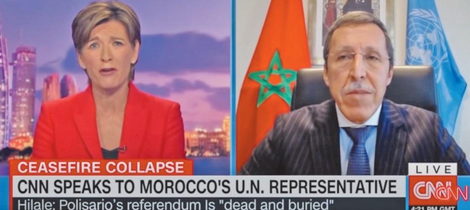 Omar Hilale : En rompant le cessez-le-feu, le Polisario s'est disqualifié de toute participation au processus politique