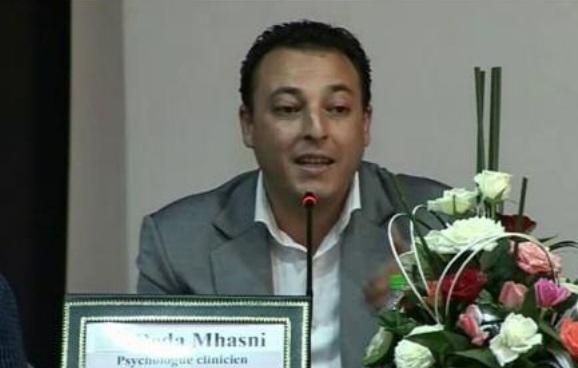 Réda Mhasni, psychologue clinicien et psychothérapeute