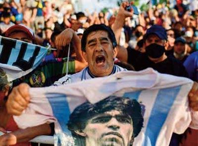 L'Argentine en larmes