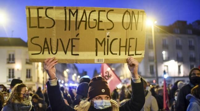 En France, quatre policiers mis en examen, deux écroués dans l' affaire de violences contre un producteur noir