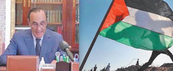 Le Maroc, sous la conduite de S.M le Roi, considère la cause palestinienne comme une question centrale