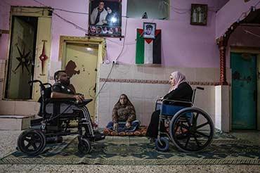 """A Gaza, une vie """" excessivement difficile """" pour les handicapés"""