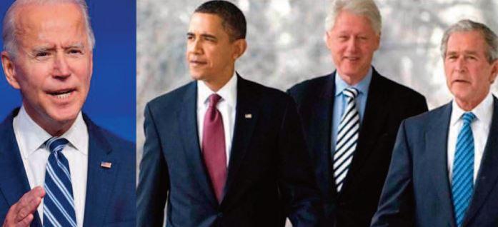 Biden, Obama, Bush et Clinton prêts à se faire vacciner publiquement contre la Covid-19