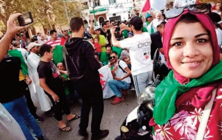 Peine confirmée en appel pour une figure féminine du Hirak en Algérie