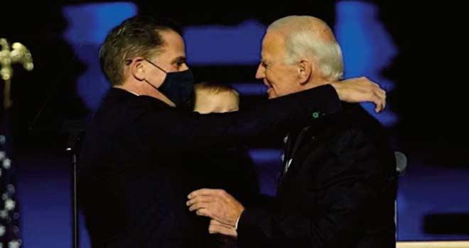 Le fils de Joe Biden visé par une enquête sur sa situation fiscale