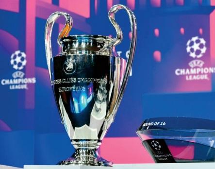 Tirage au sort des huitièmes de finale de la Ligue des champions