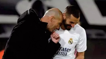 Pour Zidane, Benzema est le meilleur avant-centre français de l'histoire
