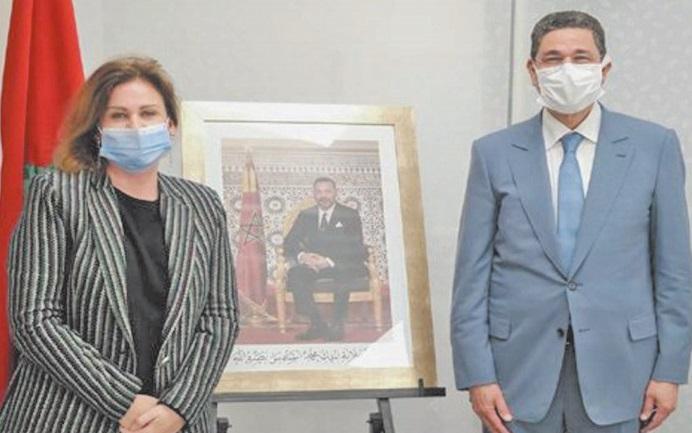 Son Altesse la Princesse Lalla Zineb reçoit le président du ministère public