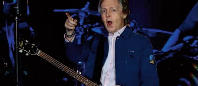 Paul McCartney sort un nouvel album et encourage la vaccination anti-Covid