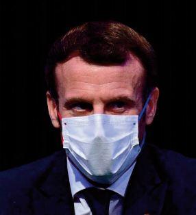 Fin d'isolement pour Macron qui n ' a plus de symptôme