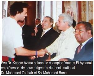 Le tennis national en deuil: Docteur Kacem Azima n'est plus