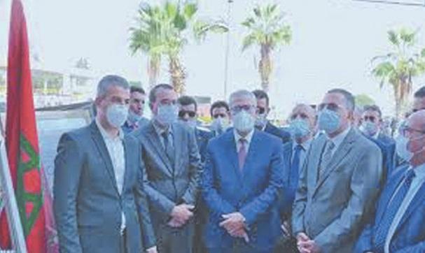 Le ministre de la Justice visite les chantiers de construction de deux tribunaux à Taroudant et Chtouka-Aït Baha