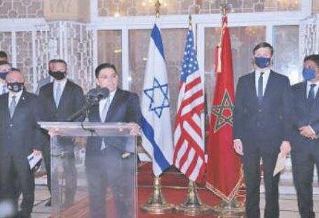 Ouverture d'une ère nouvelle dans les relations entre le Maroc et Israël