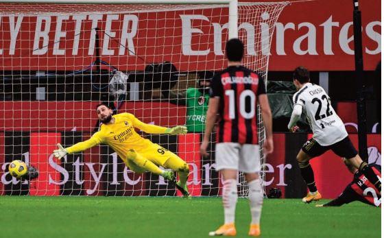 Calcio. La Juventus met fin à l'invincibilité de Milan