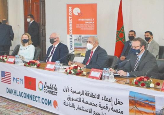 """Lancement de la plateforme """"Dakhlaconnect.com"""""""